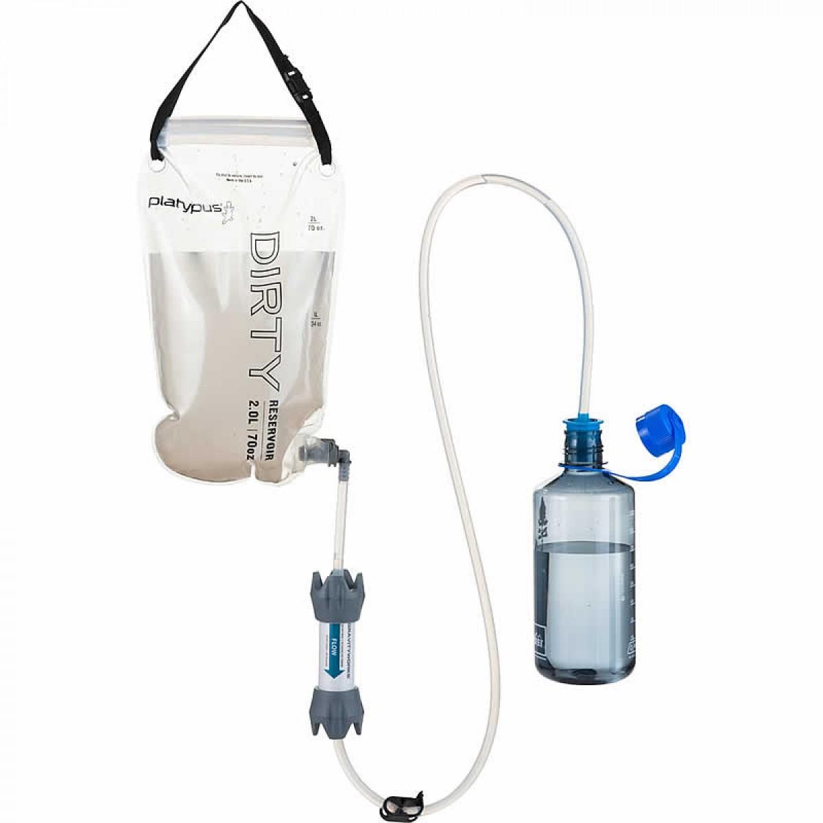 Sistemi per il filtraggio e la depurazione dell'acqua portatile per borraccia