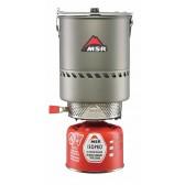 Kit da campeggio REACTOR 1.7 L STOVE SISTEM - MSR - Fornello + scambiatore di calore + pentola da 1.7 Litri