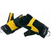 Guanti da ferrata PRO - CAMP - Mezze dita - disponibili in 5 misure - colore giallo nero