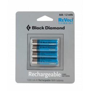 batterie ricaricabili AAA black diamond