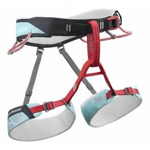 Imbragatura DONNA per arrampicata sportiva di alto livello SIREN - Black Diamond - superleggera solo 330g -  4 taglie - 2 colori