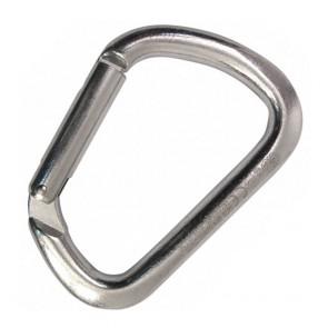 moschettone acciaio leva semplice