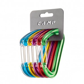 set moschettoni rack pack photon wire camp