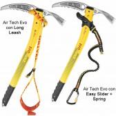 Piccozza AIR TECH EVOLUTION Grivel - Ottima per ogni genere di salita - 4 misure - Dragonne Long Leash o Easy Slider + Spring A SCELTA!